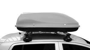 bagageiro de teto conquest jetbag 370 lt preto ou prata