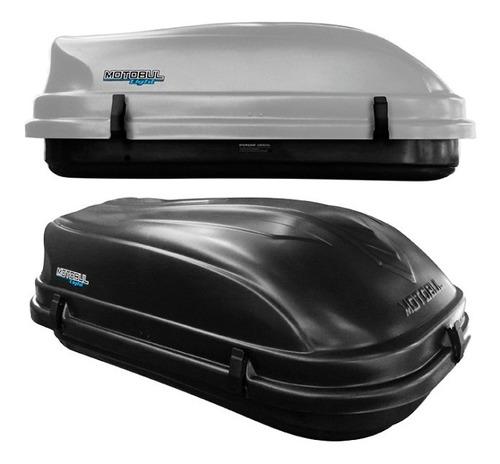 bagageiro maleiro de teto 510 litros 50kg com chave cinza
