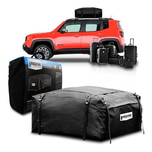 bagageiro maleiro jeep renegade impermeavel dobravel 425 l