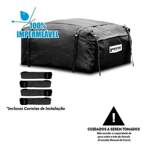 bagageiro maleiro teto dobrável impermeável 425 litros reese