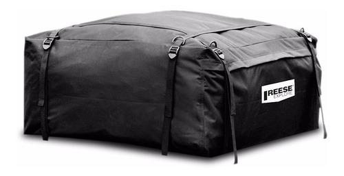 bagageiro maleiro teto impermeável dobrável 425l troller t-4