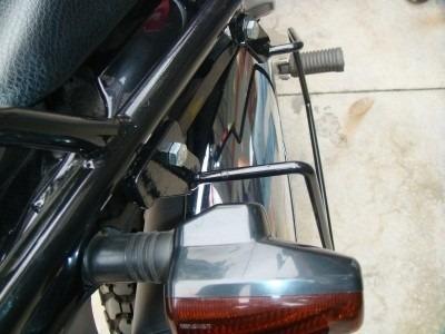 bagageiro nx 400 falcon c/ afastador p/ alforge