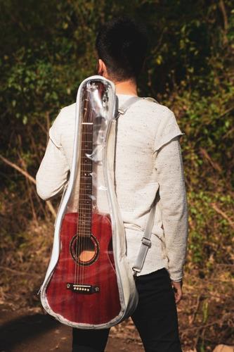 bagg transparente para violão baby style transparent 91