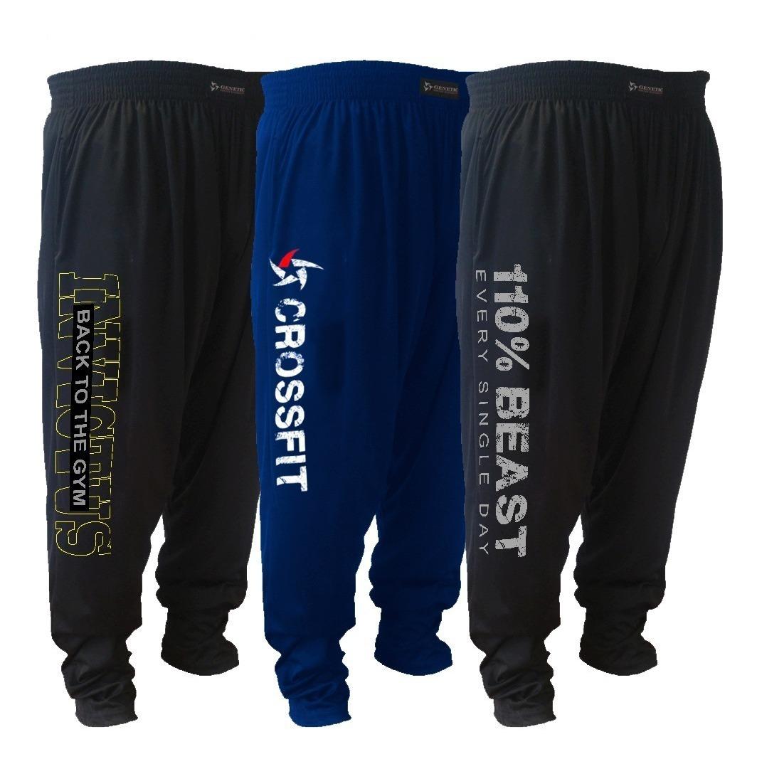 Triple Genetic Pack Pantalones Microfibra Baggies Training Rj435AL