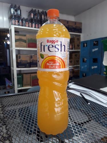 baggio fresh 1,5 litros sabor naranja, oferta!!! floresta