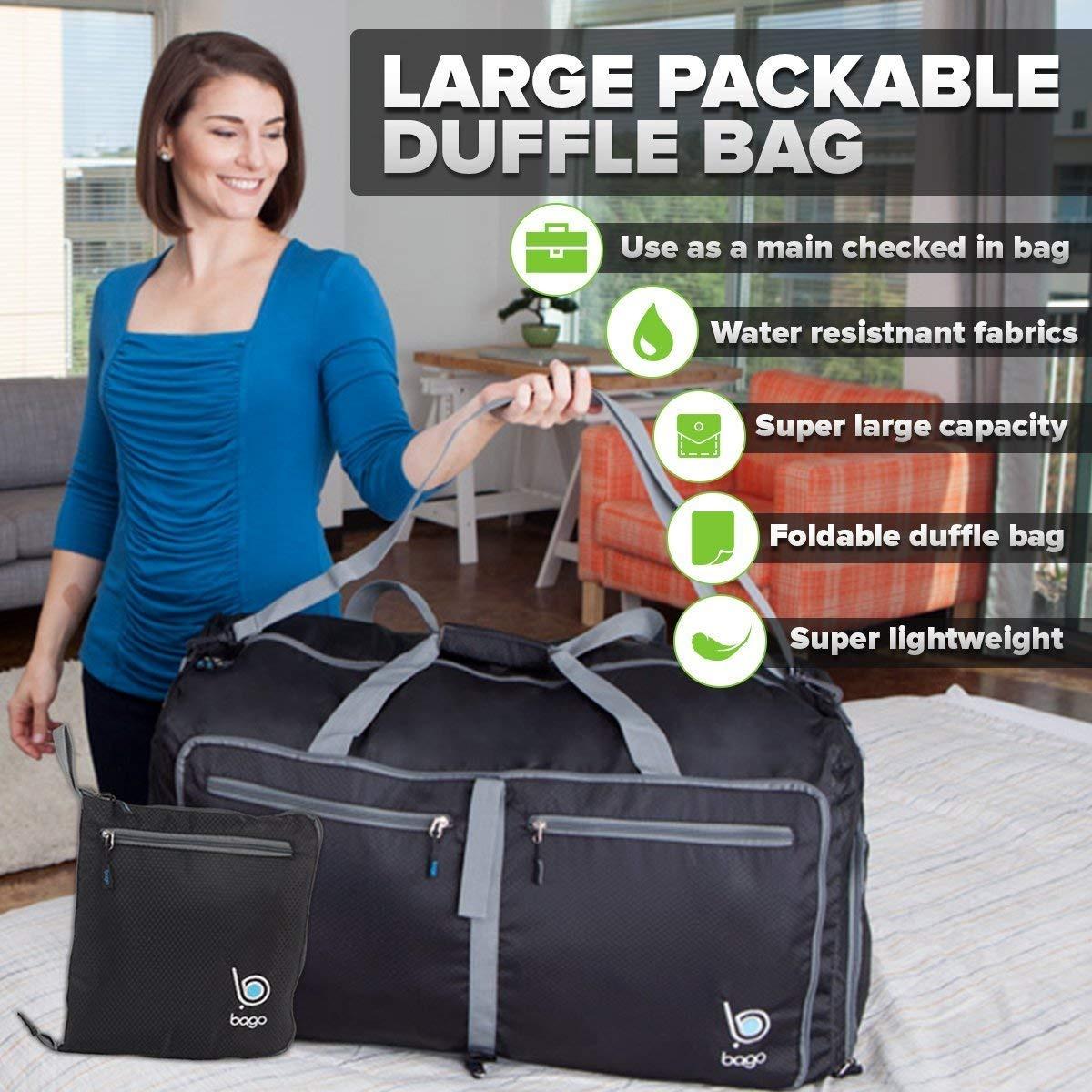 471af2042 bago travel duffel bag para mujeres y hombres - bolso ple. Cargando zoom.