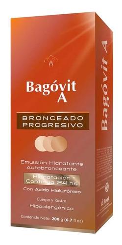 bagóvit a bronceado progresivo autobronceante hidratante