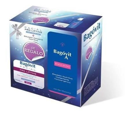 bagovit combo pro lifting crema día ttp + emulsion 120ml