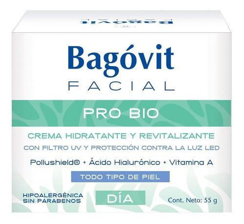 bagóvit facial pro bio crema hidratante revitalizante de día