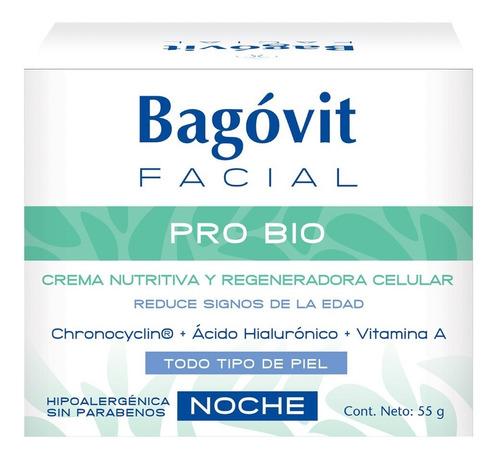 bagóvit facial pro bio crema nutritiva regeneradora de noche