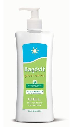 bagovit post solar gel refrescante con aloe vera al 80% 350g
