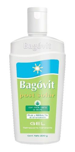 bagóvit post solar gel refrescante hidratante aloe vera 200g