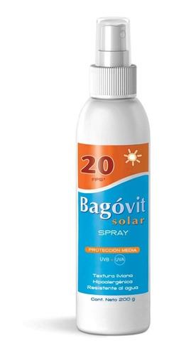 bagovit protección solar fps20 spray 200gr