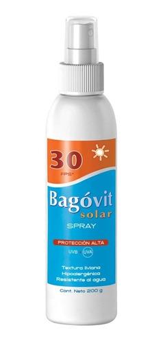 bagovit protección solar fps30 spray 200g