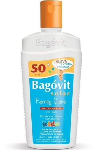 bagóvit protector solar fps 50 kids emulsión niños +12 meses
