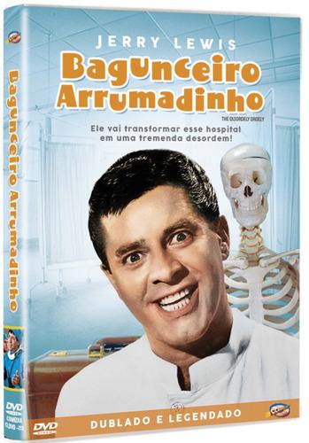 bagunceiro arrumadinho dvd jerry lewis original  frete 8reai