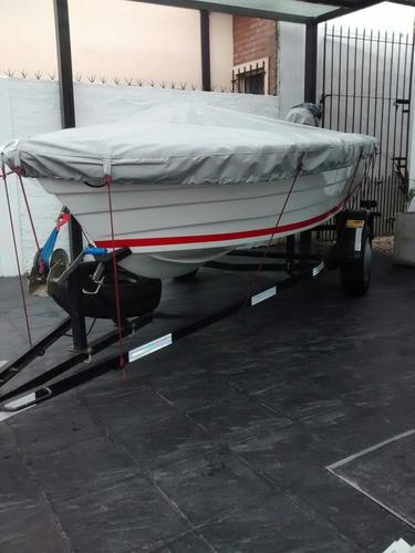 bahamas 380 + motor 25hp+ trailer completo full_full