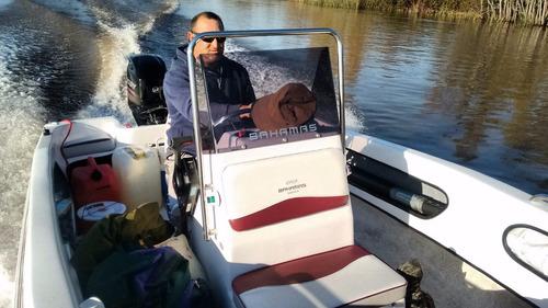 bahamas fisher 490  mercury 60