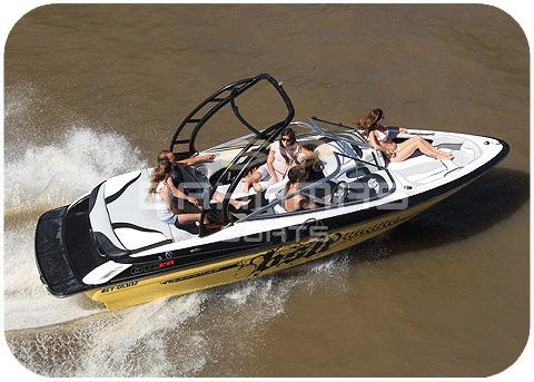 bahamas open 610 nc c/mercruiser. 250 hp v6