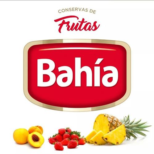 bahía 12 latas frutillas enteras light 850grs + envio gratis