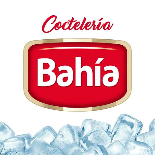 bahia 12 latas pulpa coctelería melón 453 grs + envio gratis