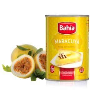 bahia 12 latas pulpa maracuya 453g reposteria + envio gratis