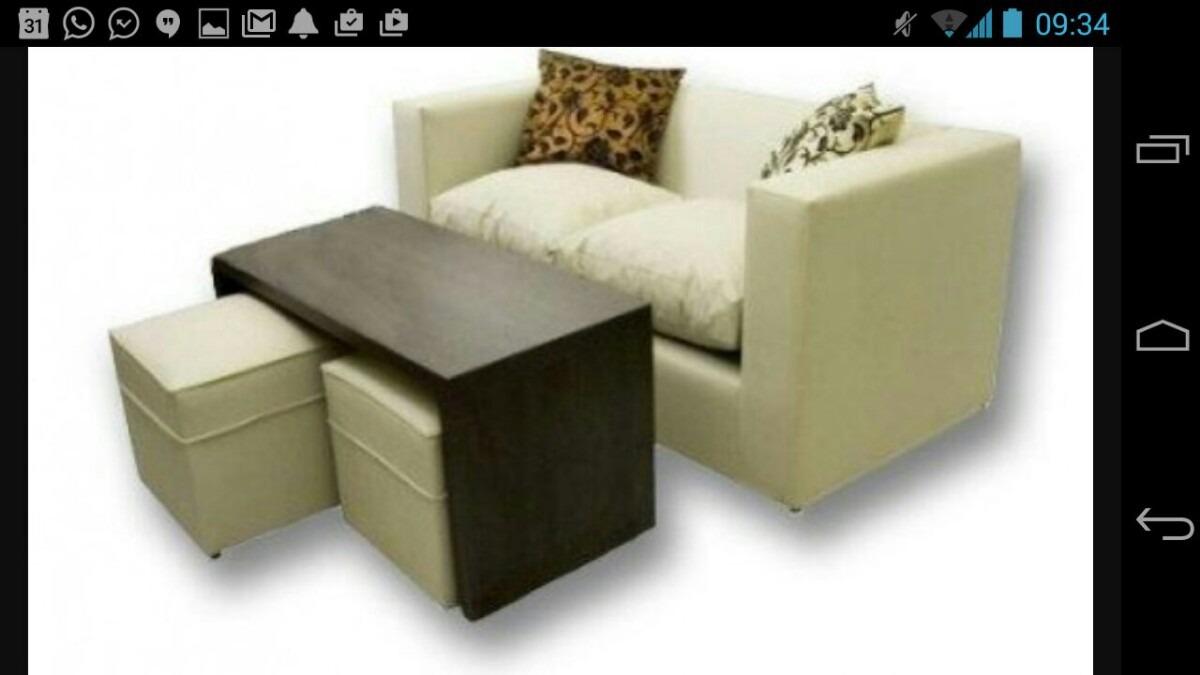 Bahia Blanca Fabrica Sofa 2 Cuerpos Mesa 2 Puff 2 500 00  # Muebles Bahia Blanca Fabricas