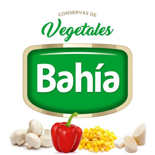 bahía caja 24 latas palmitos enteros 400 grs + envio gratis
