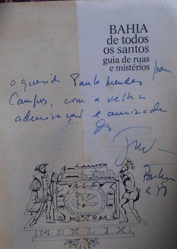 bahia de todos os santos - jorge amado - autografado