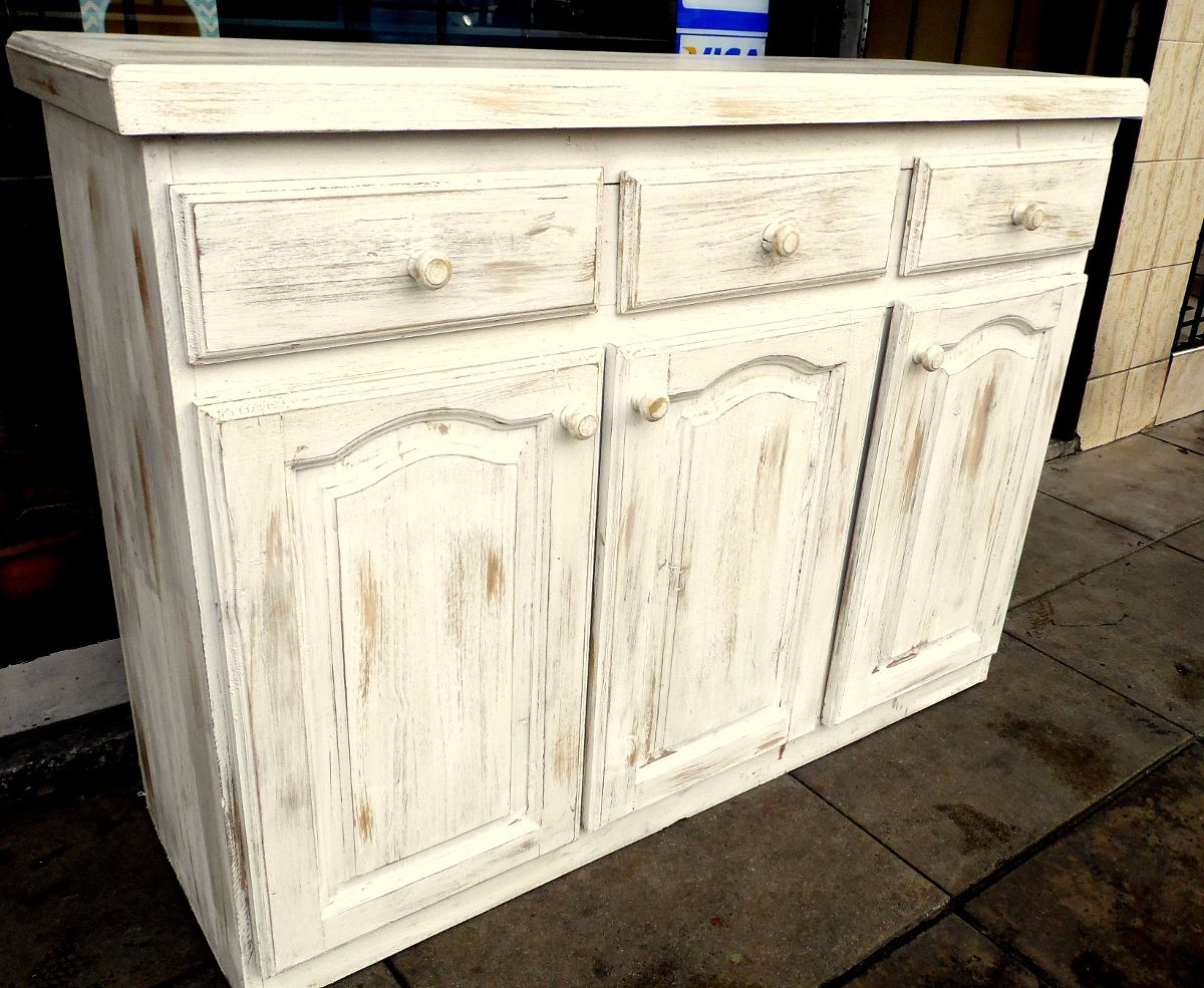Muebles blanco decapado blanco decapado with muebles - Mueble blanco decapado ...