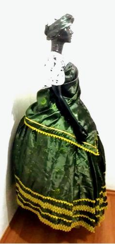 baiana 3 pecas verde,roupa,orixa,candomble,santo