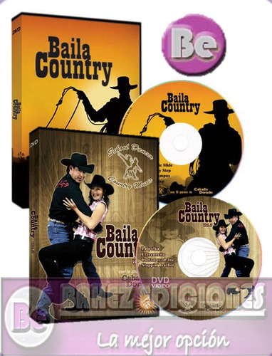 baila country 2 dvd didactimedia