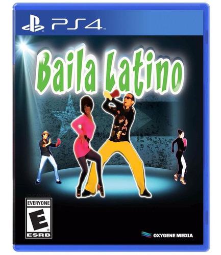 baila latino ps4 fisico original nuevo sellado en palermo.