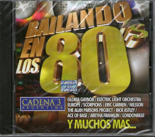 bailando en los 80´s europe scorpions gloria gaynoretc  cd