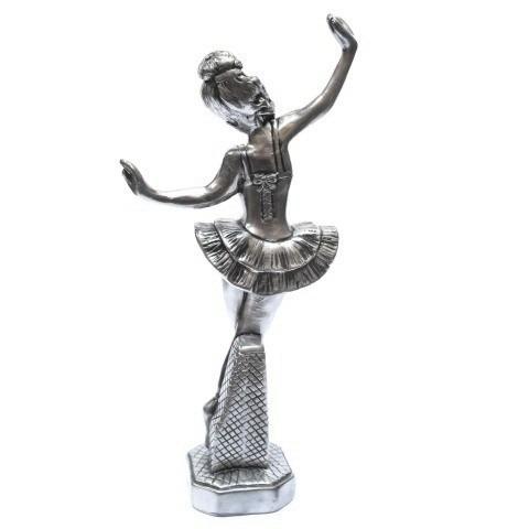 bailarina - dançarina estatueta- parcele no cartão