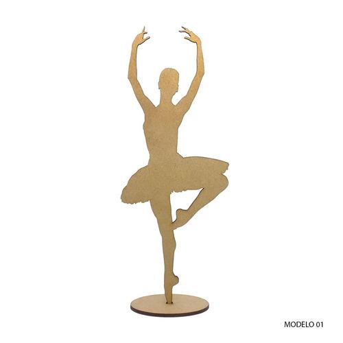 bailarina mdf - 15 cm, decoração de festas, consulte o frete