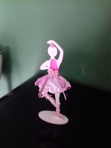 bailarina para decorar festa 20 pcs,10cm você escolhe a cor!