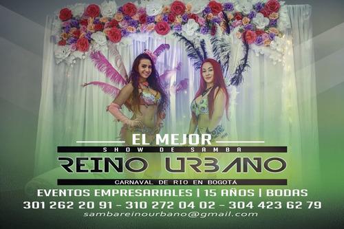 bailarinas de samba para eventos