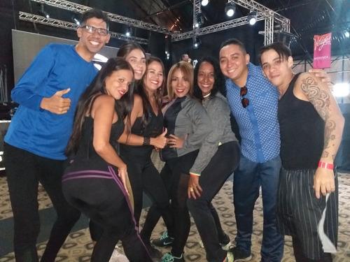 baile zumba, ritmos latinos y coreográficos (bodas)