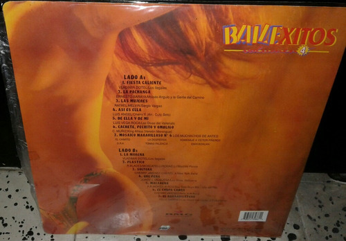 bailexitos vol 4/ salsa merengue vallenato/ lp ariola 1996