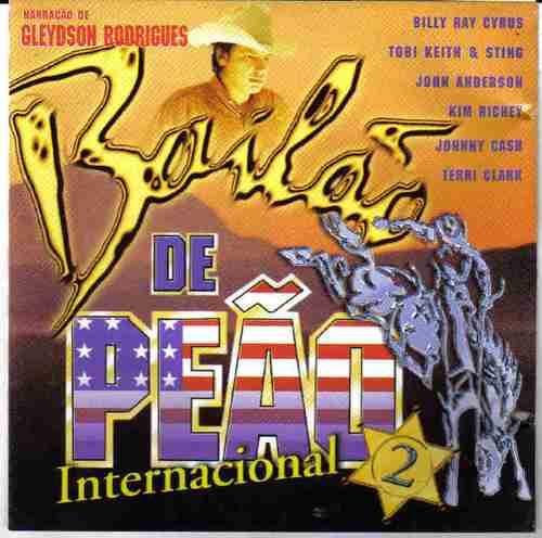 bailão de peão internacional billy ray cyrus
