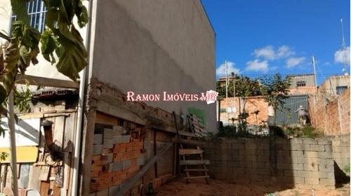 bairro santana ii - lote 150m² - ribeirão das neves gbhte-mg