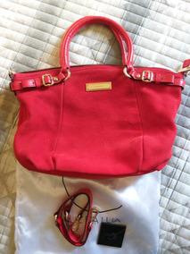 8cb7f74674 Bolsa Vermelha Luz Da Lua no Mercado Livre Brasil