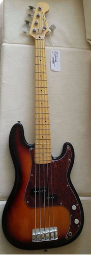 baixo squier fender vintage modified precision bass v novo!