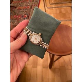 Baixou / Rolex Original. Rolex Datejust Lady Ouro Aço.