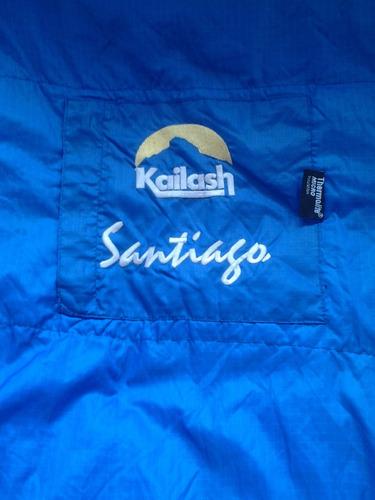 baixou!!saco de dormir kailash santiago - zíper lado direito