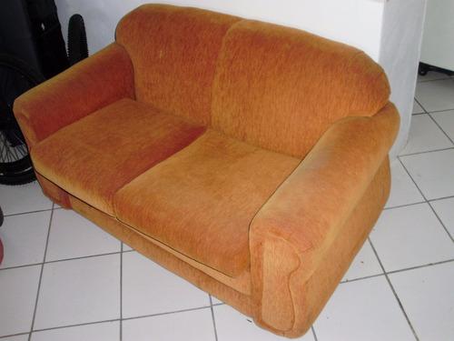 baixou!sofá dois lugares - ótima estrutura - reformado