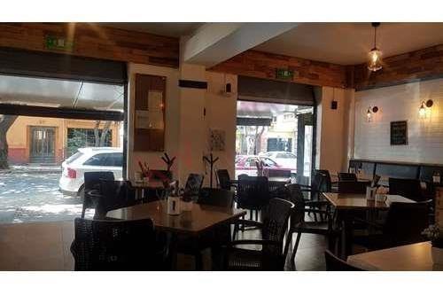 baja de precio - traspaso restaurante con amplia cocina en col. cuauhtémoc