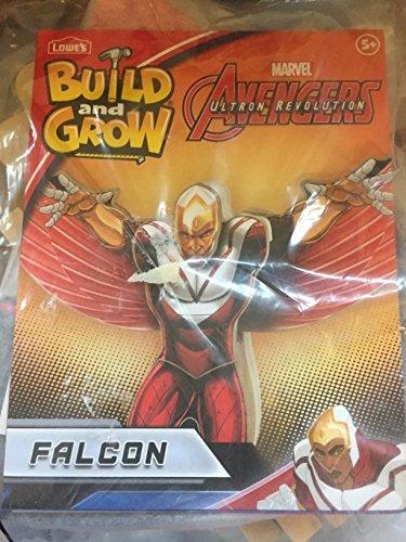 baja del construir y crecer marvel avengers halcon