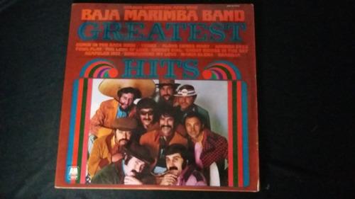 baja marimba band greatest hits lp vinilo jazz
